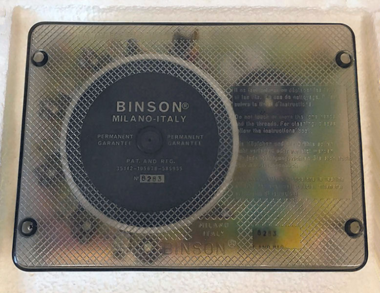 Binson Deck with Cover